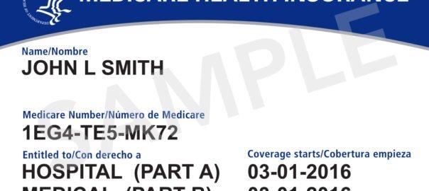 new vs old medicara cards 2018