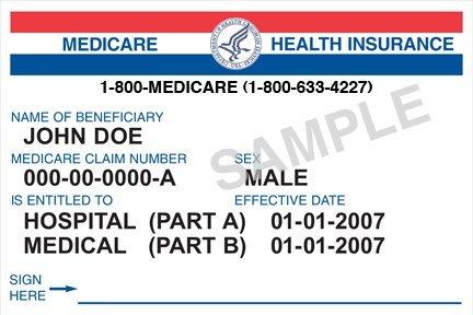 old medicare card