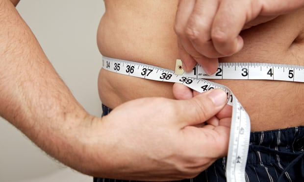 overweight-waistline-measurement
